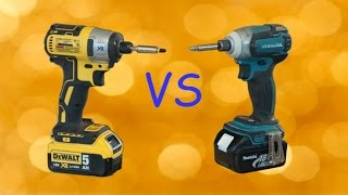 Makita vs  DeWalt/ ВИНТОВЁРТЫ