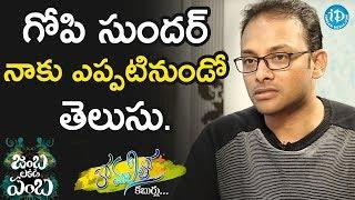 I Have No Godfather In Film Industry -  JB Murali Krishna || Anchor Komali Tho Kaburulu - IDREAMMOVIES