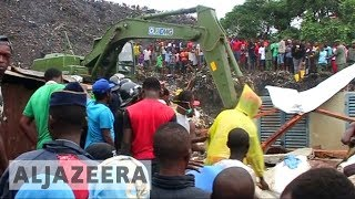 🇲🇿 Mozambique dump collapse: 17 dead, homes destroyed - ALJAZEERAENGLISH
