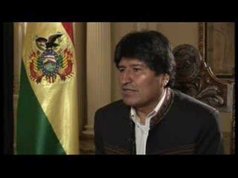 Talk to Jazeera - Evo Morales - 28 March - Part 1