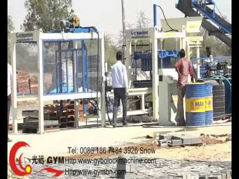 Onsite Running Fly Ash Brick Machine In Ahmadabad city India +86-18674843926