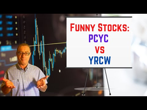 Yrcw Stock Price and Funny Stocks:  PCYC vs YRCW