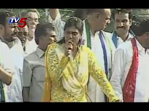 Sharmila Speech at Warangal Election Campaign