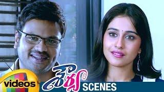 Manchu Manoj Proposes Regina | Shourya Telugu Full Movie Scenes | Brahmanandam | Mango Videos - MANGOVIDEOS