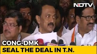 Day After Rivals Tie Up, Congress, DMK May Declare Alliance For Elections - NDTV