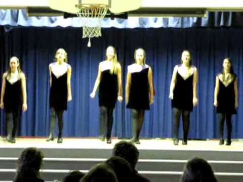 A capella irish dance hardshoe