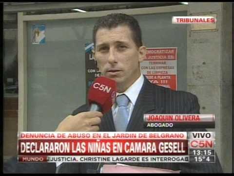 C5N - POLICIALES: DECLARAN LAS NENAS DEL JARDIN DE BELGRANO (PARTE 3)