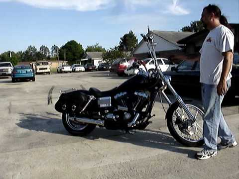 2007 Dyna Wide Glide w/ Wood TW6-6 cams