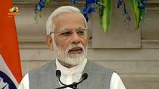 PM Modis Speech at Joint Press Statement with European President Council & Commission | Mango News - MANGONEWS