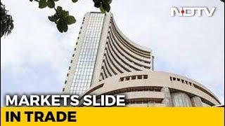 Sensex, Nifty Plunge On Weak Global Cues; Banking, Metal Stocks Worst Hit - NDTVPROFIT