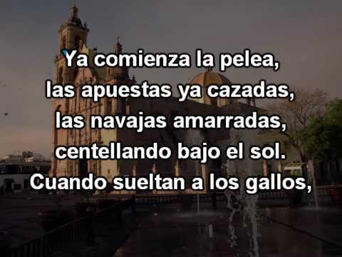 Pelea De Gallos - Karaoke