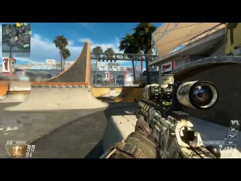 【BO2:PS3】 Sniper irusuke Battle Records -12th sniping-