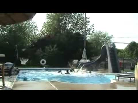 POOL BASKETBALL 6 PASS TRICK SHOT!! WTF