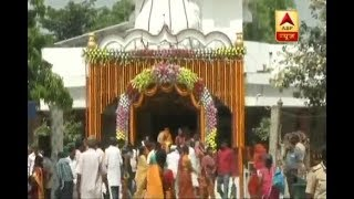 Sitamarhi: Nitish Kumar visits Janki Mandir; plans to renovate it - ABPNEWSTV