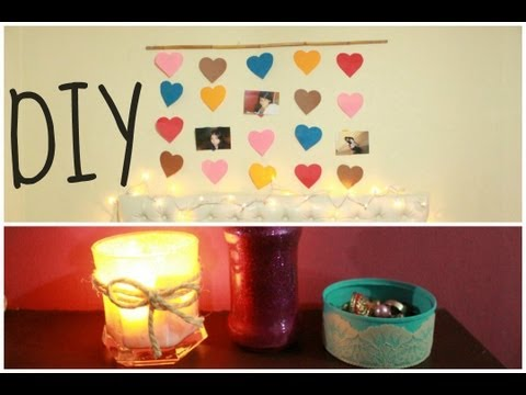 DECORA TU HABITACION - DIY 4 IDEAS