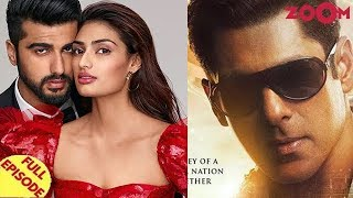 Arjun & Athiya don't talk due to Malaika? | Salman Khan peeps into 90's with Bharat's look & more - ZOOMDEKHO