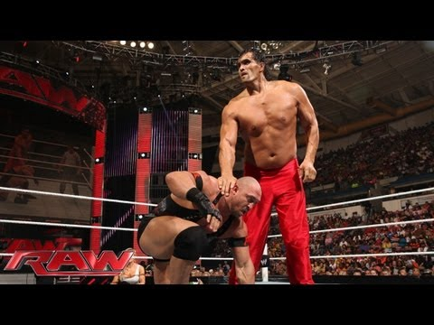 The Great Khali vs. Ryback: Raw, June 24, 2013