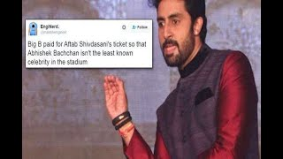 Abhishek Bachchan Trolled For Living With His Parents, Hits Back With An Awesome Reply - ABPNEWSTV
