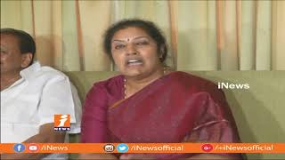 BJP Purandeswari Slams TDP Leaders Comments Over Non-Bailable Warrant To AP CM | iNews - INEWS