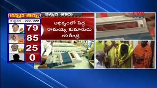 పోటాపోటీగా దూసుకుపోతున్న బీజేపీ & కాంగ్రెస్ :Karnataka Election Results 2018 LIVE Updates | CVR News - CVRNEWSOFFICIAL