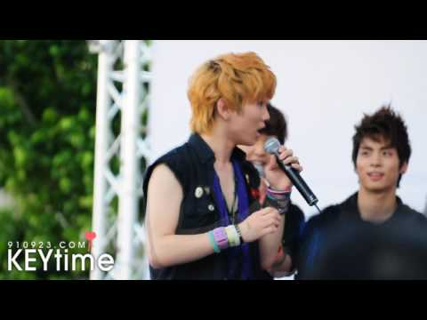 090919 SHINee - Fan Meeting in Taiwan (Key Fancam)
