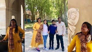 Actress Roja Enjoying Vacation With Family In Paris Photos | Tollywood Updates - RAJSHRITELUGU