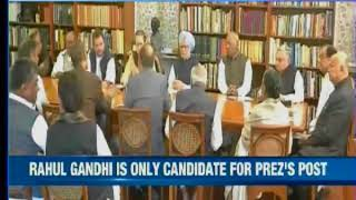 CWC meeting underway to decide final poll dates; will Congress unite behind Rahul? - NEWSXLIVE