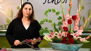 Landscape Design Floral Arrangement