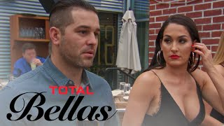 Brie, Bryan & JJ Trick Nikki Bella Into a Blind Date | Total Bellas | E! - EENTERTAINMENT