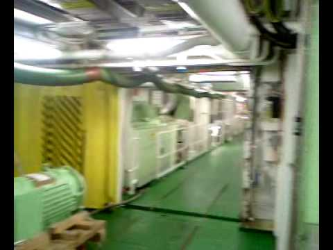 SHIP ENGINE ROOM  m/v Ventura P&O Cruise