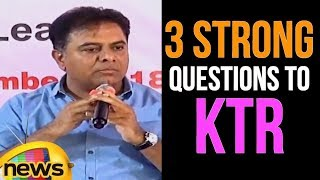 KTR SUPER Answer to Media Reporter Questions ? | KTR latest Press Meet | TRS Meeting | Mango News - MANGONEWS