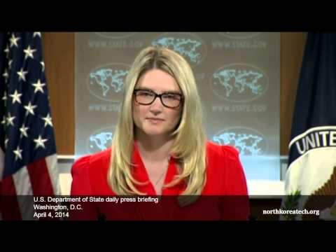 North Korea questions at State Dept. briefing, April 4, 2014