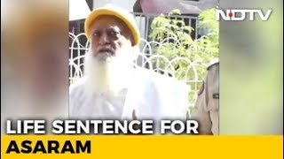 Asaram, Guilty Of Raping Schoolgirl, Sentenced To Life In Jail - NDTV