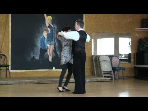 Viennese Waltz Reverse Turn with Inside Turn
