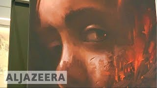 Haneen: Exhibition of Syrian children's longings in war - ALJAZEERAENGLISH