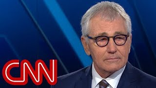 Chuck Hagel on Trump skipping veterans event: Embarrassment - CNN