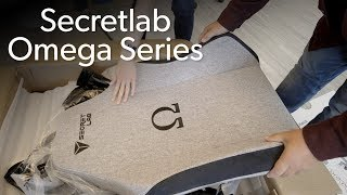 Secretlab Omega Series gaming chair unboxing - PCWORLDVIDEOS