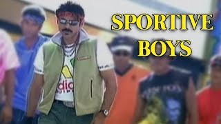 Sportive Boys | Vasu Telugu Movie Video Song | Venkatesh | Boomika | Harris Jayaraj - RAJSHRITELUGU