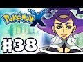 Pokemon X and Y - Gameplay Walkthrough Part 38 - Gym Leader Olympia Battle! (Nintendo 3DS)