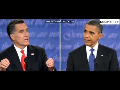 Presidential Debate Between President Obama and Mitt Romney (Part 1) 2012