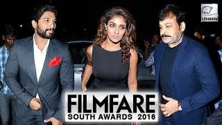 Filmfare Awards South 2016: Chiranjeevi, Allu Arjun, Nayanthara Steal The Show   Lehren Telugu - LEHRENTELUGU