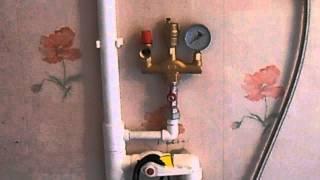 Как установить напольный газовый котел