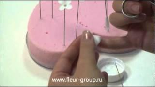 Керамическая флористика fleur - Урок 1 (часть 2).wmv