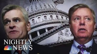 Comedian Jimmy Kimmel Calls Out Senator As Health Care Bill Heads For Vote | NBC Nightly News - NBCNEWS