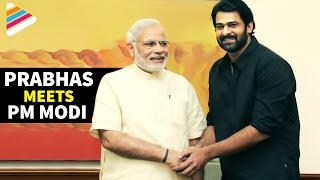 Prabhas Meets Modi | India PM Congrats Baahubali Movie Team | Exclusive Video | Telugu Filmnagar - YOUTUBE