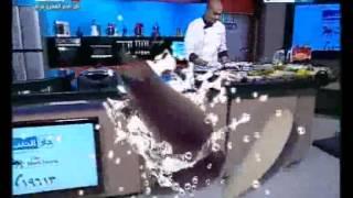 كيفية عمل السمك البوري الشيف علاء الشربيني