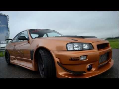 Fotoshoot Nissan Skyline R33 GTR  (400), 500, 600 PK