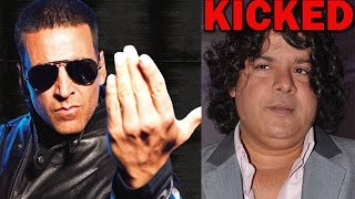 Akshay Kumar chops Sajid Khan out! | Bollywood News - ZOOMDEKHO