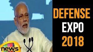 Modi Says He Is Delighted And Overwhelmed | Defense Expo 2018 | Kanchipuram | Mango News - MANGONEWS