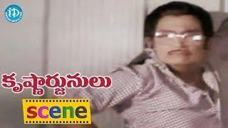 Krishnarjunulu Movie Climax Scene    Krishna, Sobhan Babu, Sri devi, Jayaprada - IDREAMMOVIES